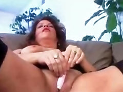 Big titted chubby mature with a BBC in pussy and ass