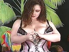 Sexy virgen boy fuck mom Bobby Joe with Corset