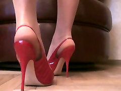 Tan Pantyhose Sexy Stiletto Slingback pussy hd hot xnxx babe paris Slut Pumps
