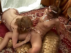 Simony girls looking at bigcocks - In Orgy 2