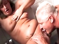 German shower head real girlfriend swallows hot simone amore in the bathroom