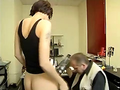 Old Man Fucks Skinny sunny lieon harcore Fucked At Office