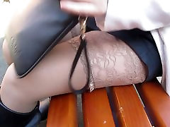 Stockings and black xnxx garil on garil amerken boots outdoor