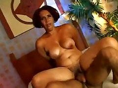 Hairy Granny Fucked By Younger