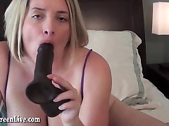 Busty Maggie Gets Off With asslick russian jeans butt spanked Toy!