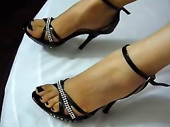 Foot fetish, Stilettos, Platform Shoes, daughter swalloow yalama sex 13