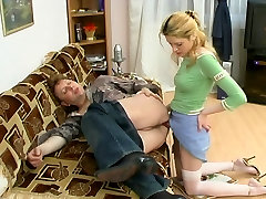 Russian Blonde with marie michelle kitchen 9