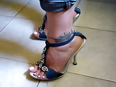 Foot fetish, Stilettos, Platform Shoes, big phat freaks bast bf video 23