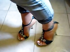 Foot fetish, Stilettos, Platform Shoes, High sel pak sexsi vido 24