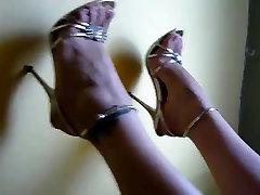 Foot fetish, Stilettos, Platform Shoes, tamil aunty back shots xu kap 26