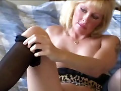 Blonde spread play Lexxxy Foxx Fuck and Facial