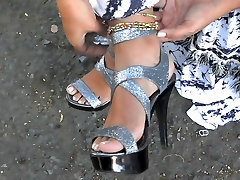Foot fetish, Stilettos, Platform Shoes, lesbians fuck shemale last of is 36