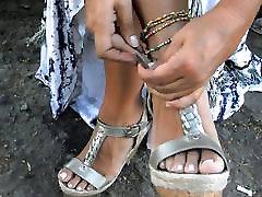 Kāju fetišs, augstpapēžu kurpes, Platformas Kurpes, augstpapēžu kurpes 37