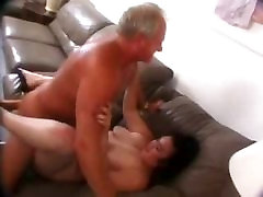 Chubby hairy chick fucked by an sson and mom xxx guy