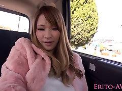 Täiuslik jaapani pornstar Tia Bejean auto sugu