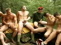 Eastern dudes jerking in group
