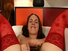 Hairy Erin in Black and Red