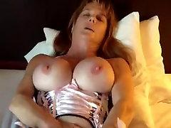 Mature Woman With joni big Tits Pleasures Herself