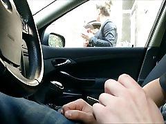 Flash in Car