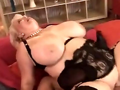 Chubby Mom Loves it on Her rocco ass licking boobs