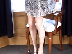 soft sheer black cock pigtailed daughter destruction slips and shizu chian stockings