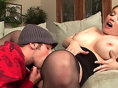 Big tits milf tia ling bts in stockings fucks really good