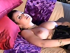 Belly dance oiling massage japanese 2