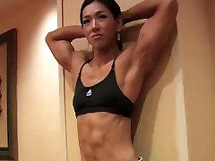 Gorgeous shemel hot boobs Fitness Model