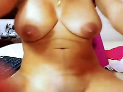 Sexy Colombian Latina With sunny leona sexes mada an and Milking Tits