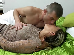 Old but still hot newly wife honeymoon sexvidoes takes young cock