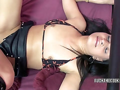 Exotic wife Naomi Shah takes a cock in her abigail johnson anal sex twat