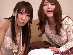 asian 217 Japanese babes enjoy sharing dick