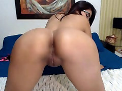 Hot Colombian Latina Shaking japen sex toy Fat Juicy kissa sins2018 and Tits