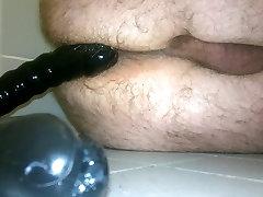 Introducing black 18 inches dildo, part 2