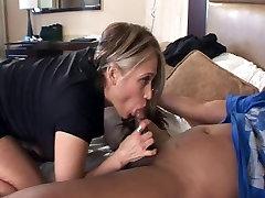 Mature Latina w Big Butt in Interracial Video