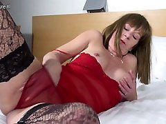 Real bbw beaury with old hungry vagina