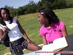 Ebony Lesbians Licking And Fucking