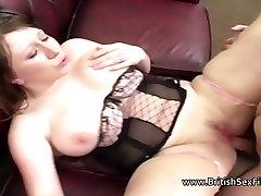 Chubby girlfriend assfucked by boyfriend