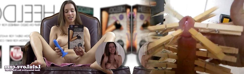 Lelu Love-Examining Heeldo Foot Intercourse-Toy