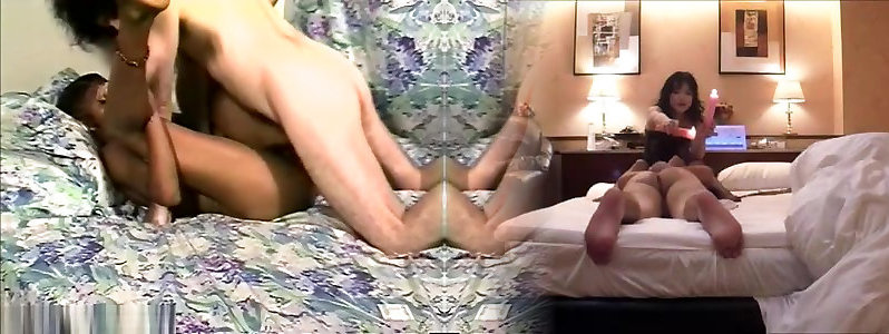 Crazy sex industry star in sumptuous fur covered, interracial porno clip