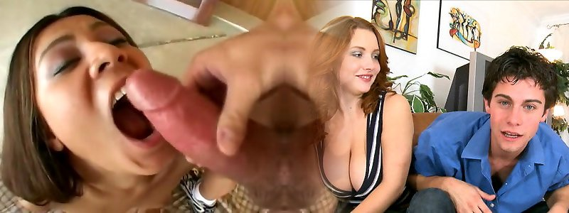 Nasty adult movie star in hottest assfucking, interracial porn flick