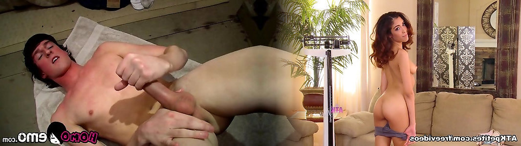 Wonderful thin youngster Jase Bionx solo getting off sesh