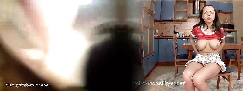 Fledgling Cougar with Xxl Orbs in a Homemade Pov Fuckfest Video