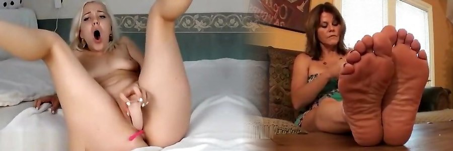 Horny Blond Nubile Jizz With Her New Hump Toy