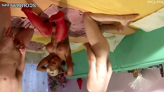 Thin 18yr older German Teenage in Very First Dp With 2 Senior Dude