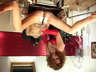 Magnificent pornstar Maistresse Kika in kinky threesomes, brunette porn video