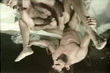 Crazy masculine in astounding no condom, vintage homo fuck-a-thon sequence