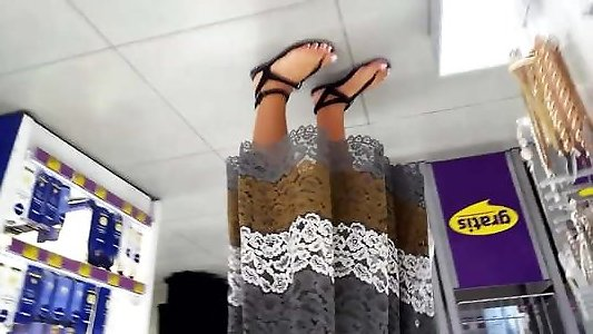 female spectacular feets french pedicured milky toes