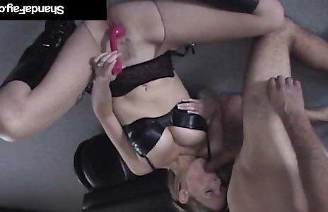 Fabulous Canadian Milf Shanda Fay Gets Rectal Fucked & Creampied