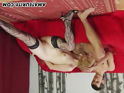 Unexperienced girlfriend total oral with jism in mouth